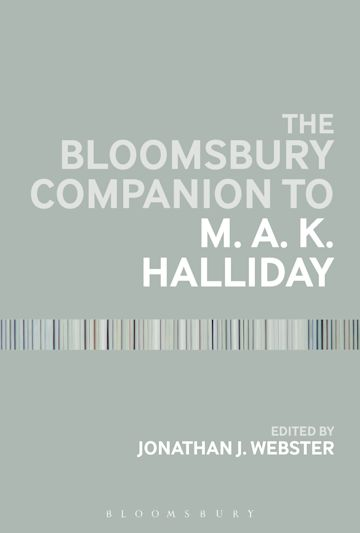 The Bloomsbury Companion to M. A. K. Halliday cover