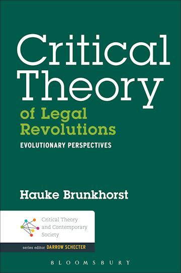 Critical Theory of Legal Revolutions cover