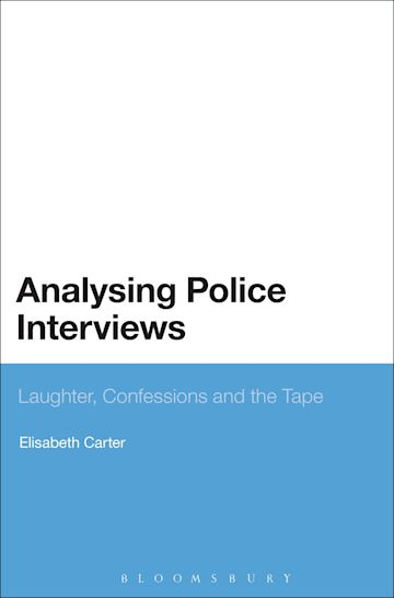 Analysing Police Interviews cover