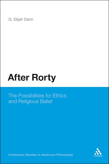 After Rorty cover