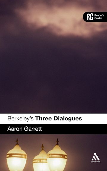 Berkeley's 'Three Dialogues' cover