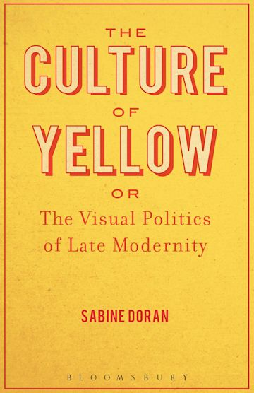 The Culture of Yellow cover