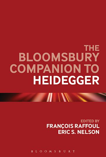 The Bloomsbury Companion to Heidegger cover