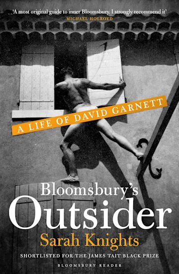 Bloomsbury's Outsider cover
