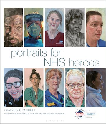 Portraits for NHS Heroes cover