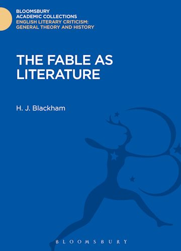 The Fable as Literature cover