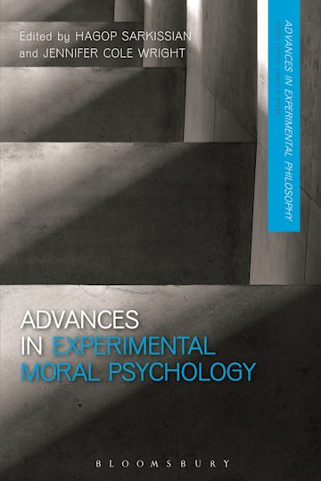 Advances in Experimental Moral Psychology cover
