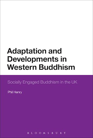 Adaptation and Developments in Western Buddhism cover