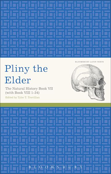 Pliny the Elder: The Natural History Book VII (with Book VIII 1-34) cover