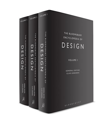 The Bloomsbury Encyclopedia of Design cover