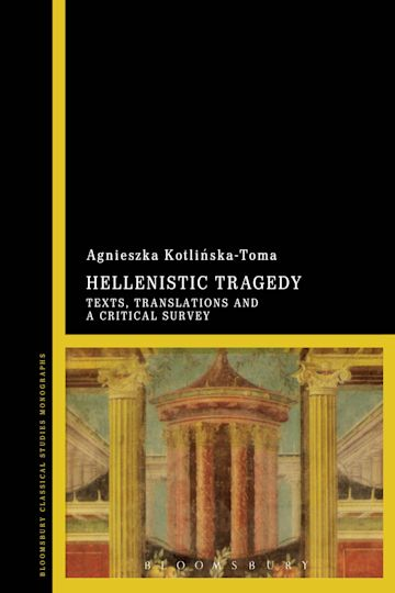 Hellenistic Tragedy cover