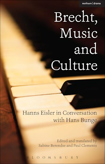 Brecht, Music and Culture cover