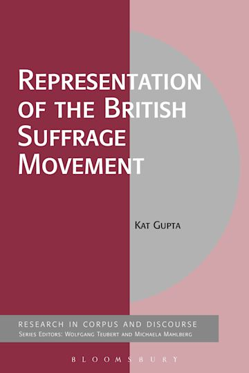 Representation of the British Suffrage Movement cover