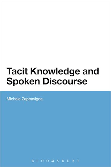 Tacit Knowledge and Spoken Discourse cover