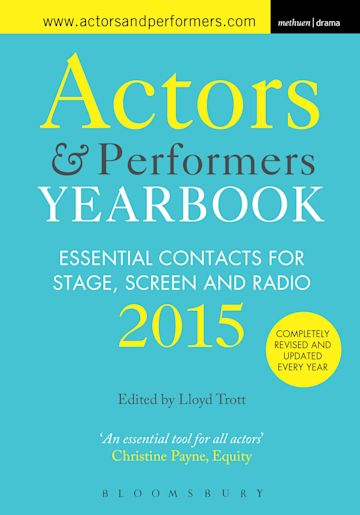 Actors and Performers Yearbook 2015 cover