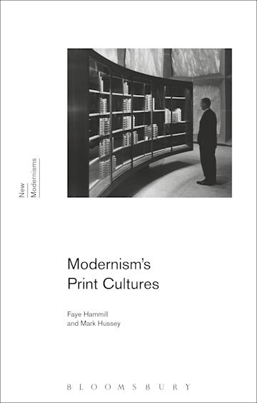 Modernism's Print Cultures cover