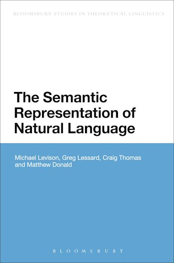 The Semantic Representation of Natural Language cover