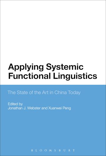 Applying Systemic Functional Linguistics cover