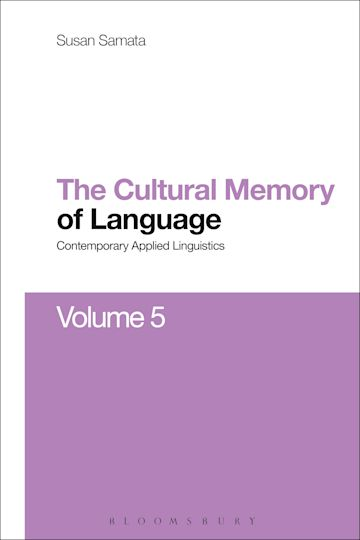 Cultural Memory of Language cover
