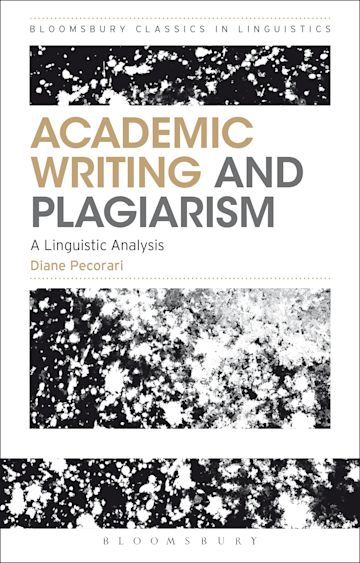 Academic Writing and Plagiarism cover