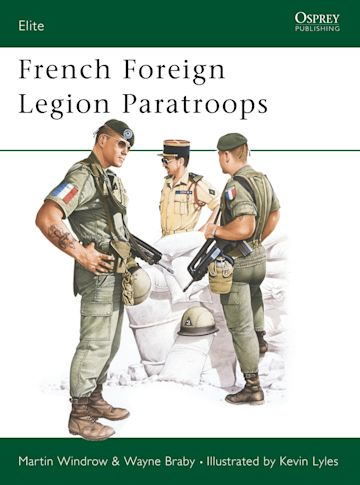 French Foreign Legion Paratroops cover