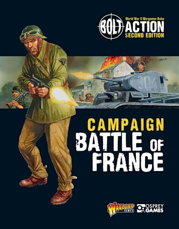Bolt Action: Campaign: Battle of France cover