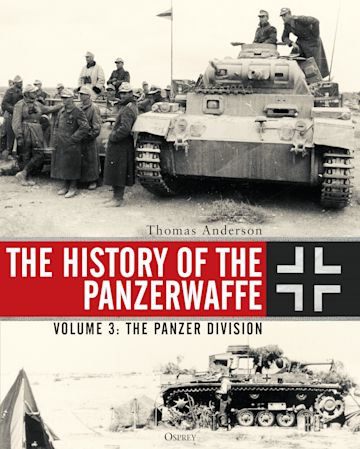 The History of the Panzerwaffe cover