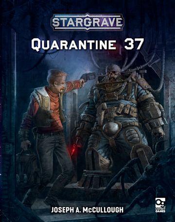 Stargrave: Quarantine 37 cover