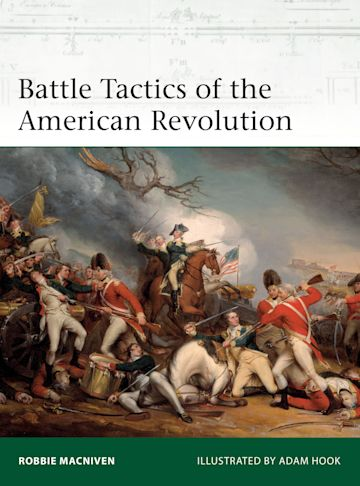 Battle Tactics of the American Revolution cover