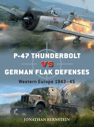 P-47 Thunderbolt vs German Flak Defenses cover