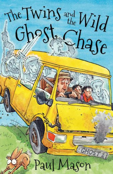 The Twins and the Wild Ghost Chase cover