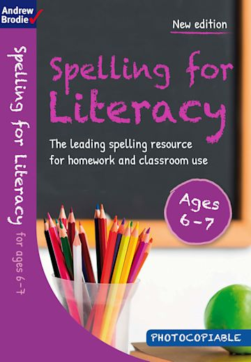 Spelling for Literacy for ages 6-7 cover