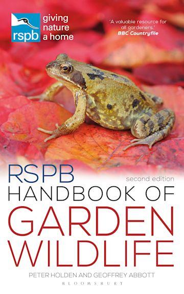 RSPB Handbook of Garden Wildlife cover