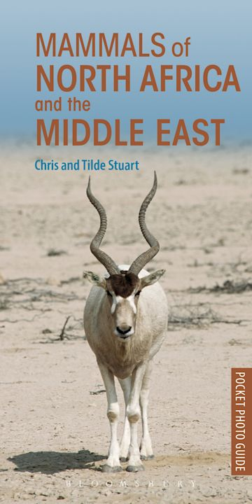 Mammals of North Africa and the Middle East cover