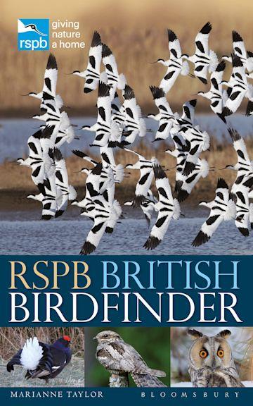 RSPB British Birdfinder cover