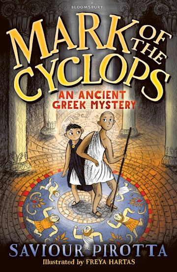 Mark of the Cyclops: An Ancient Greek Mystery cover