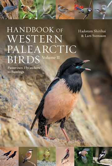 Handbook of Western Palearctic Birds, Volume 2 cover