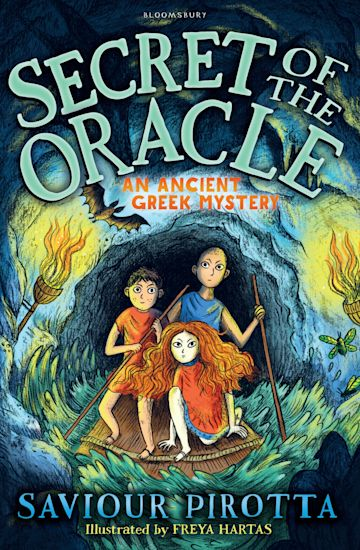 Secret of the Oracle: An Ancient Greek Mystery cover