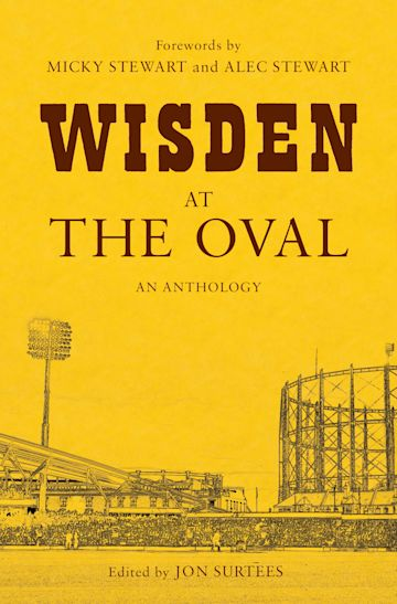 Wisden at The Oval cover