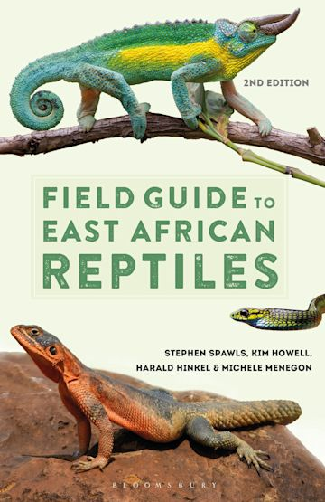 Field Guide to East African Reptiles cover