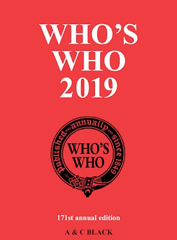 Who's Who 2019 cover