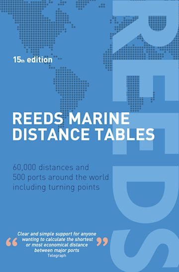 Reeds Marine Distance Tables 15th edition cover