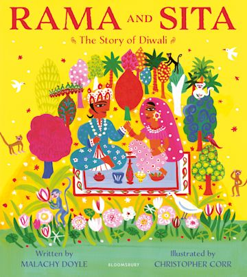 Rama and Sita: The Story of Diwali cover