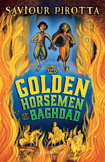 The Golden Horsemen of Baghdad cover