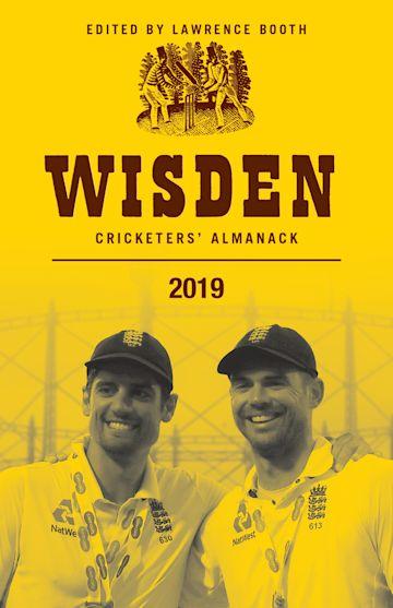 Wisden Cricketers' Almanack 2019 cover