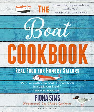 The Boat Cookbook cover