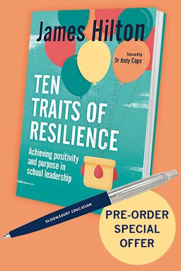 Pre-order offer: Ten Traits of Resilience + FREE Parker Jotter Ballpen cover