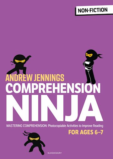 Comprehension Ninja for Ages 6-7: Non-Fiction cover