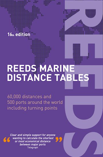 Reeds Marine Distance Tables 16th edition cover