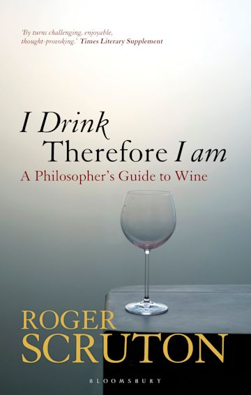 I Drink Therefore I Am cover